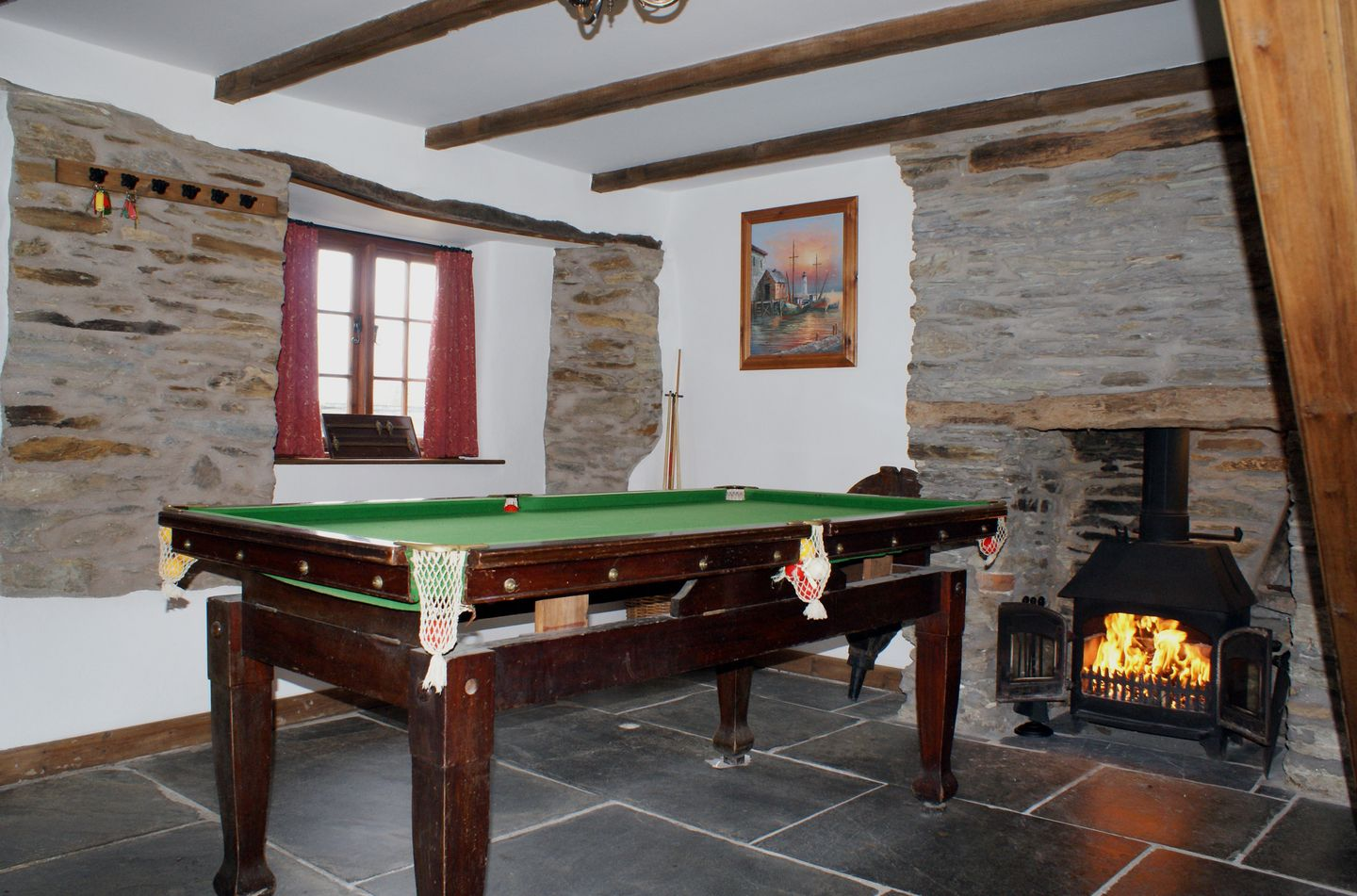 Samuels Cottage Snooker Room