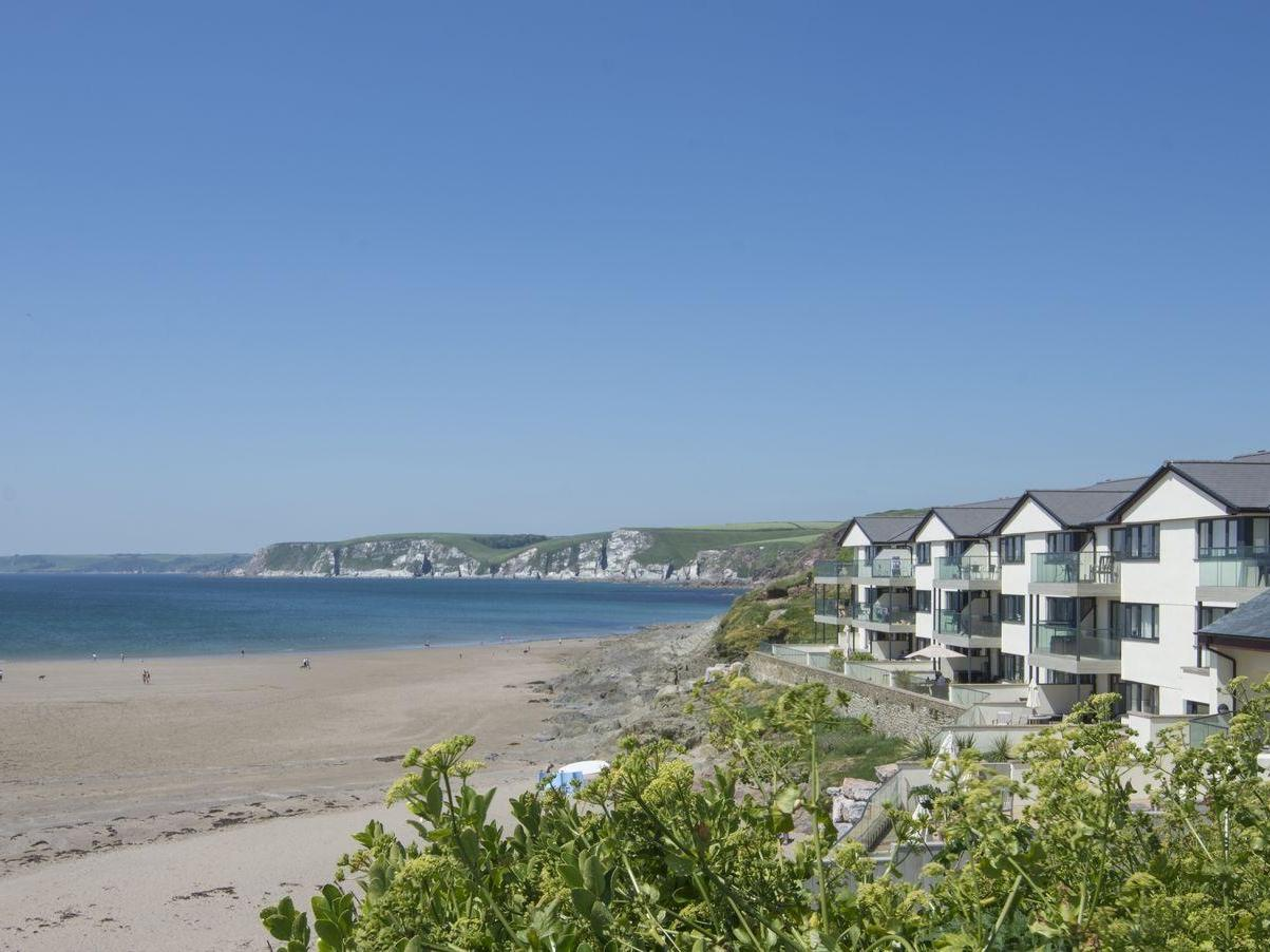 Holiday Cottage Reviews for Apartment 13 - Holiday Cottage in Bigbury on sea, Devon