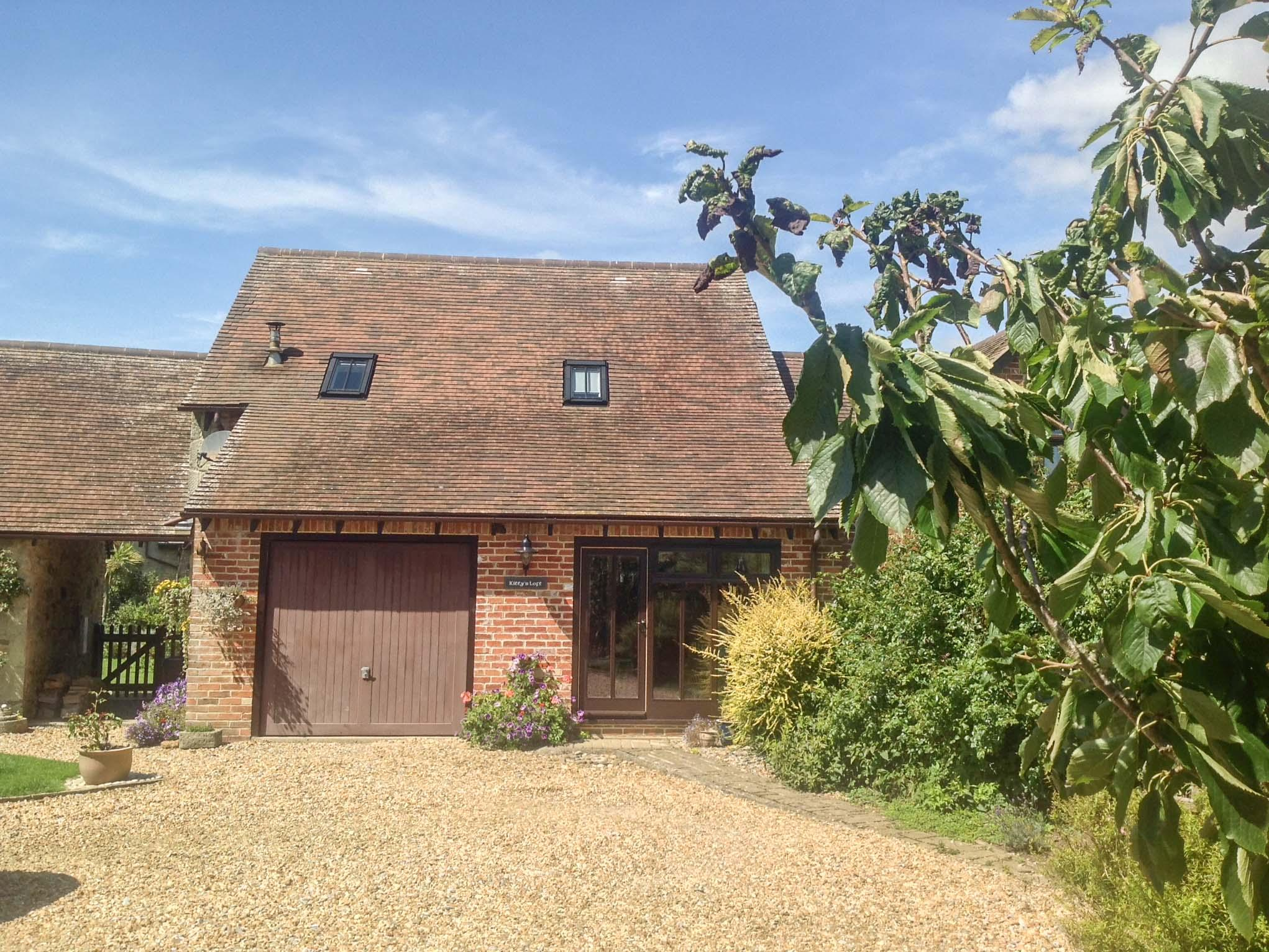 Holiday Cottage Reviews for Kitty's Loft - Self Catering in Godshill, Isle of Wight