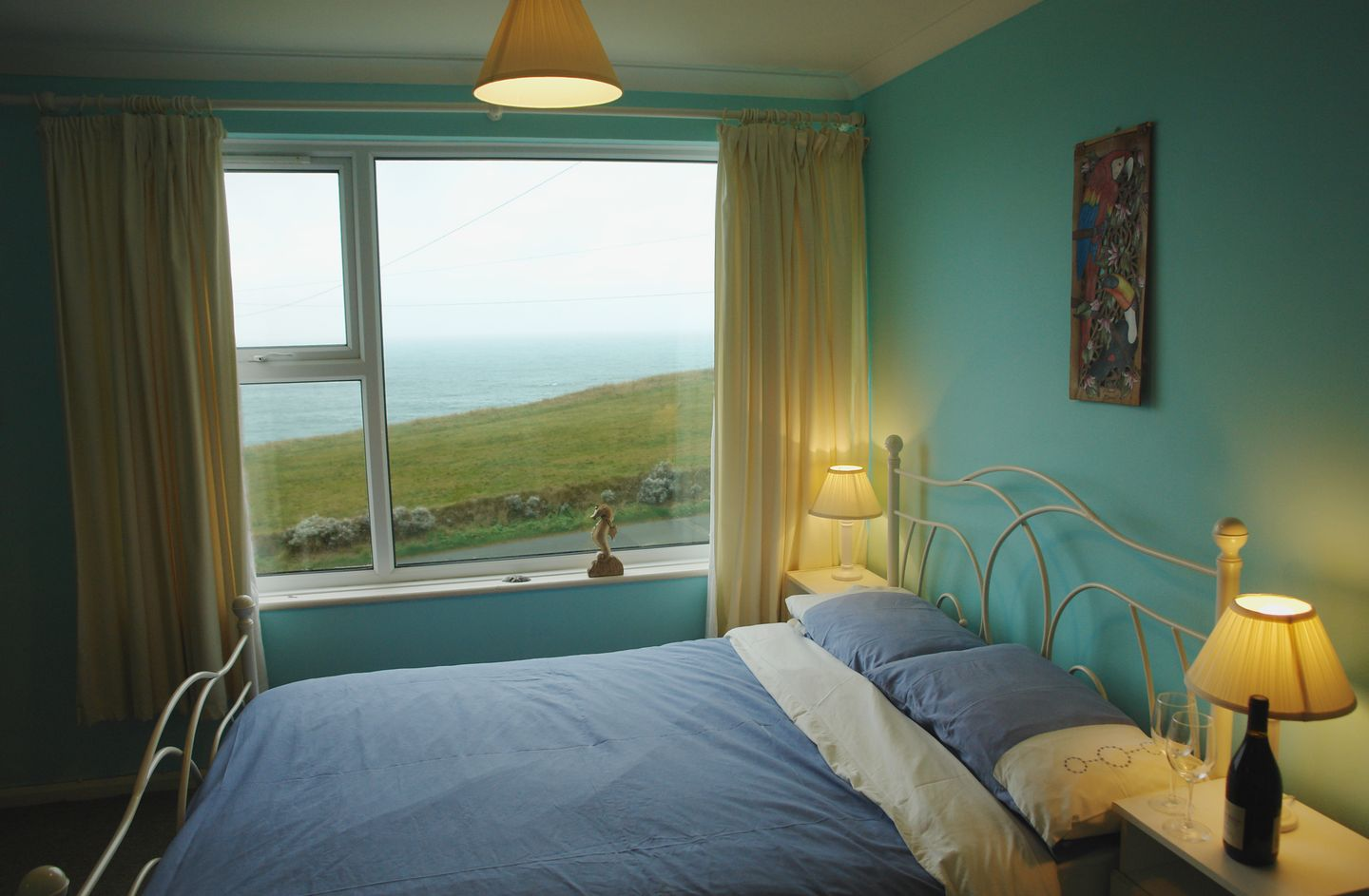 Spindrift No 3 Newquay Double Bedroom
