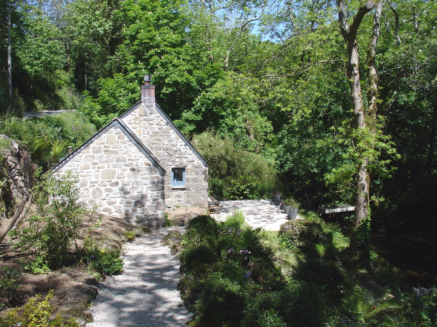 Holiday Cottage Reviews for The Birch Studio - Holiday Cottage in Lamorna, Cornwall inc Scilly