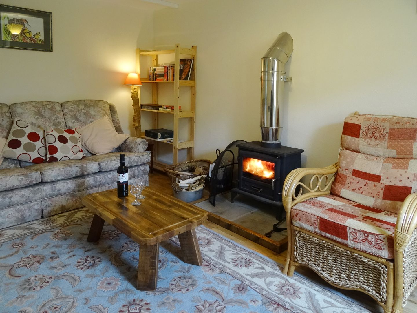 The Old Engine House Tretoil Bodmin Living Room