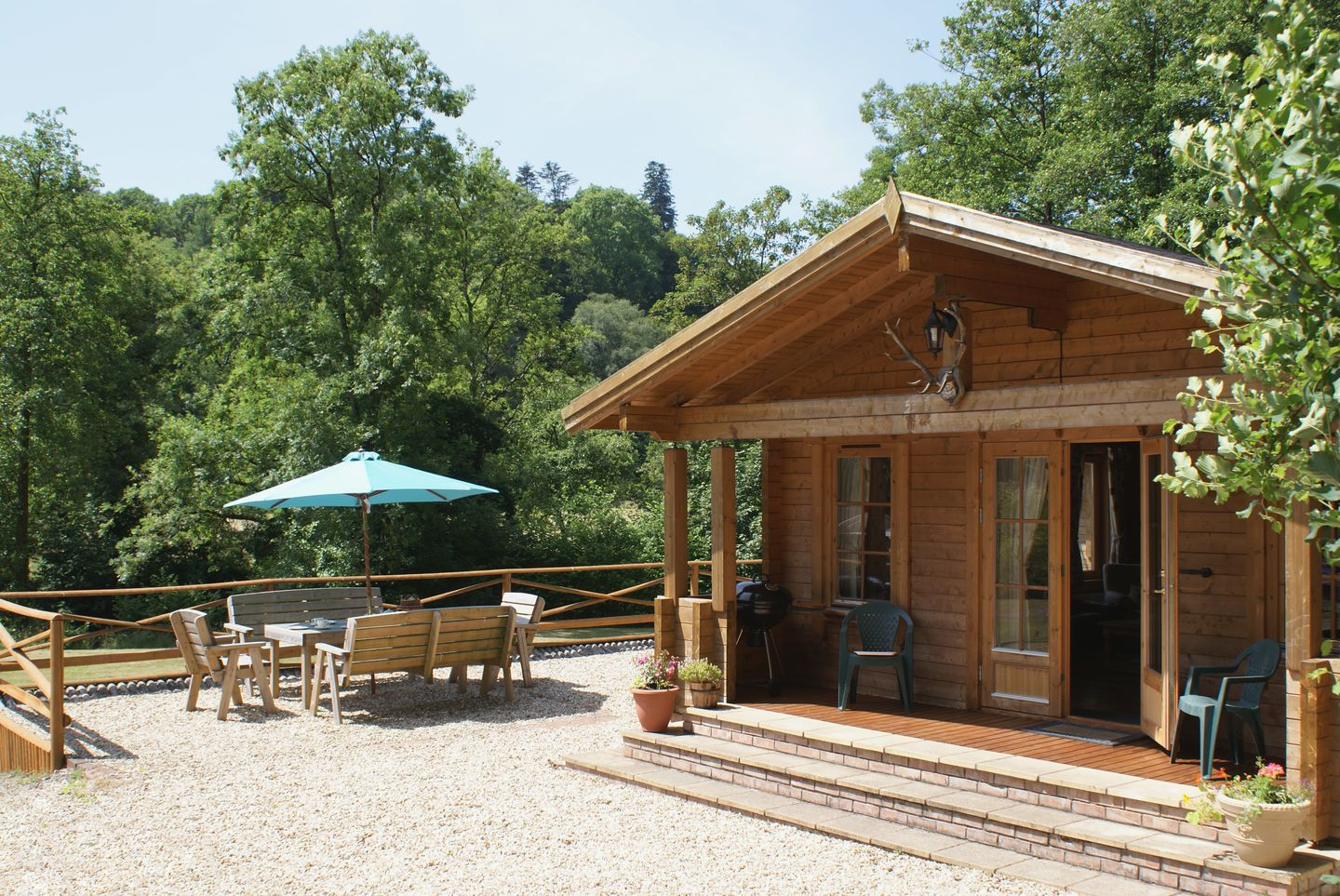 Holiday Cottage Reviews for Valley Lodge - Self Catering Property in Exebridge, Devon