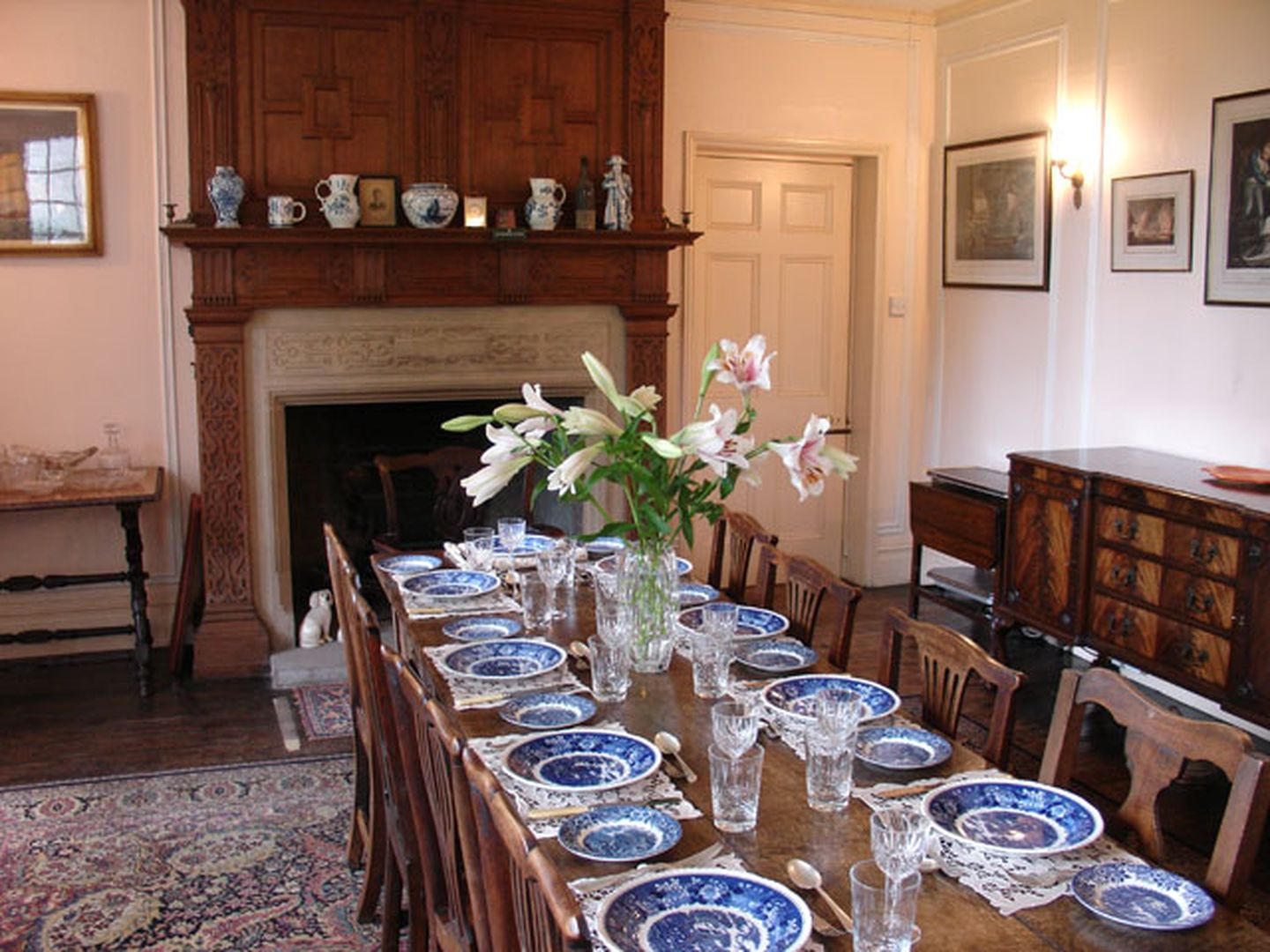 Wootton House Dining Room