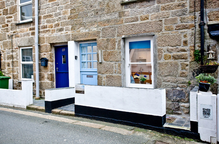 Holiday Cottage Reviews for Zig Zag, St Ives - Cottage Holiday in St Ives, Cornwall inc Scilly