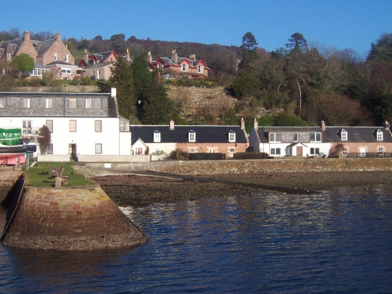 Fuchsia Cottage - Fortrose Harbour